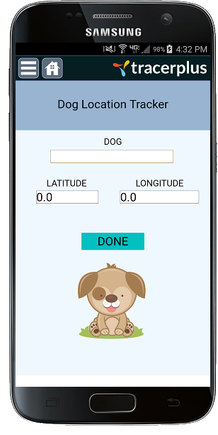 Dog Walking Tracker Mobile Application