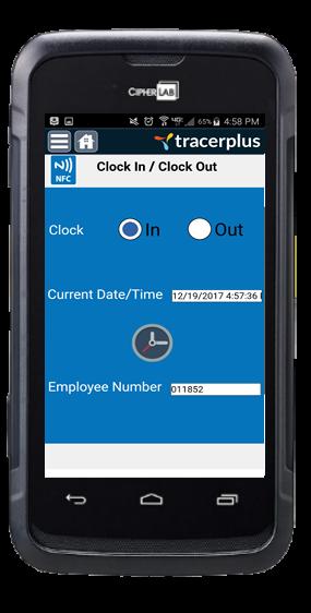 NFC Badge Reader - Mobile App Development | TracerPlus