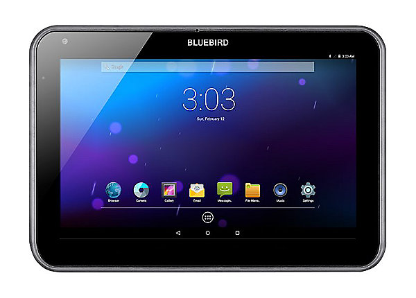 Bluebird RT100 Rugged Android Tablet