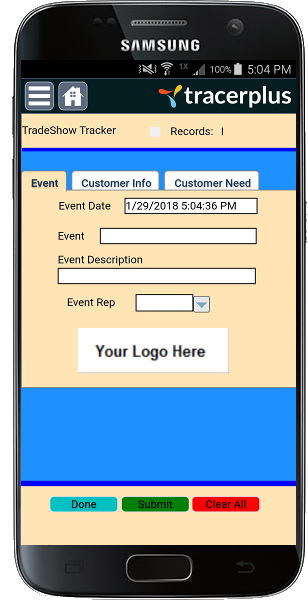 main event applications