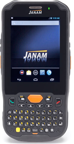 Janam XM5 Compatible with TracerPlus Mobile Software