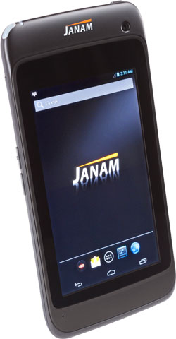 Janam XT1 Compatible with TracerPlus Mobile Software