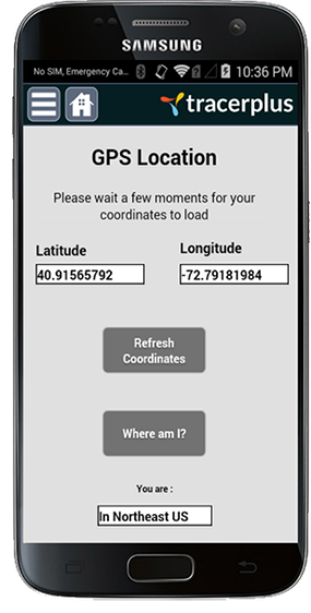TracerPlus GPS Location Tracking Application