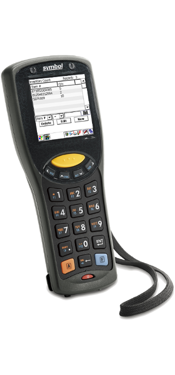 TracerPlus mobile data on the MC1000 Barcode Terminal
