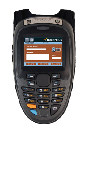 Symbol MT2000 Price Verification Application