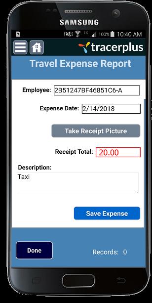 travel expense tracker mobile app development tracerplus