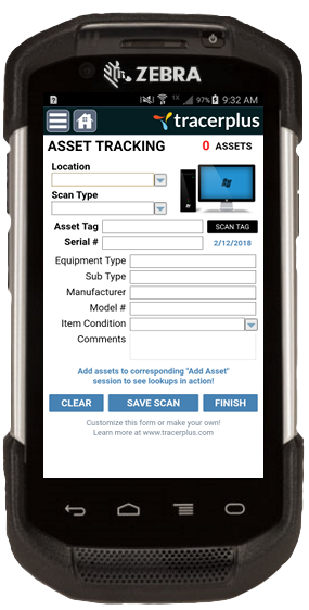 IT Asset Tracking mobile application