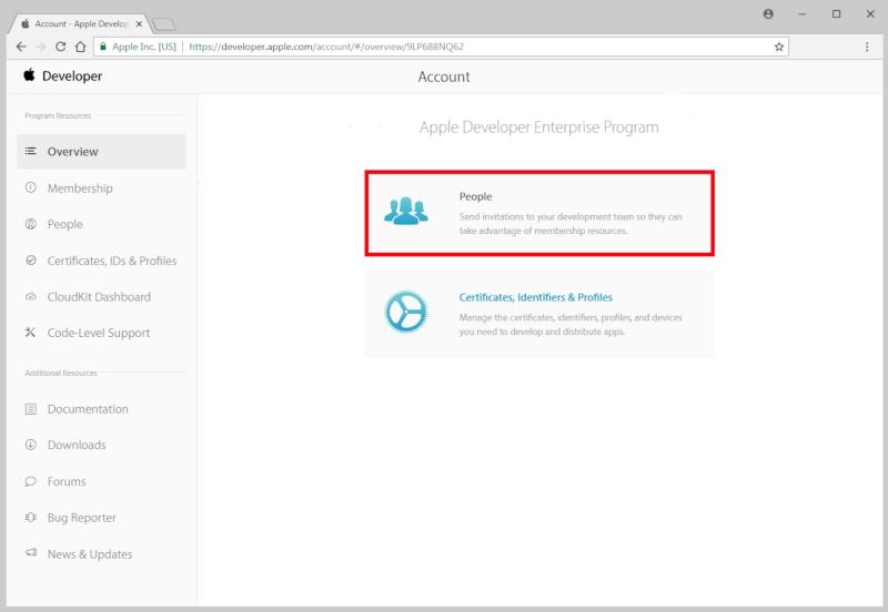 Apple Developer Enterprise Program | Tracerplus