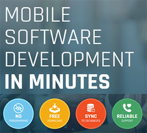 Mobile software development in minutes
