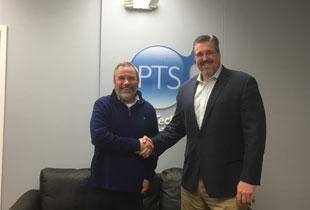 Brad Horn of PTS and Matt Ruhland of 57 Systems