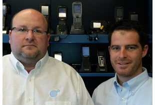 PTS Employees Joseph Kraebel and Howard Heckman